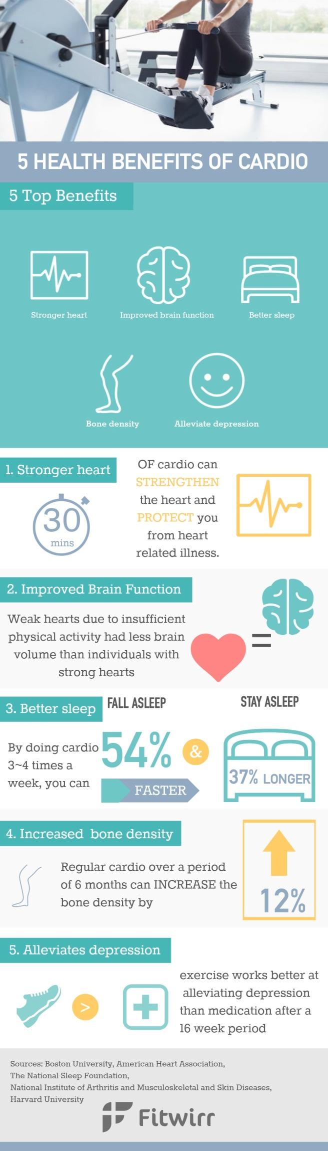 5 benefits of cardio